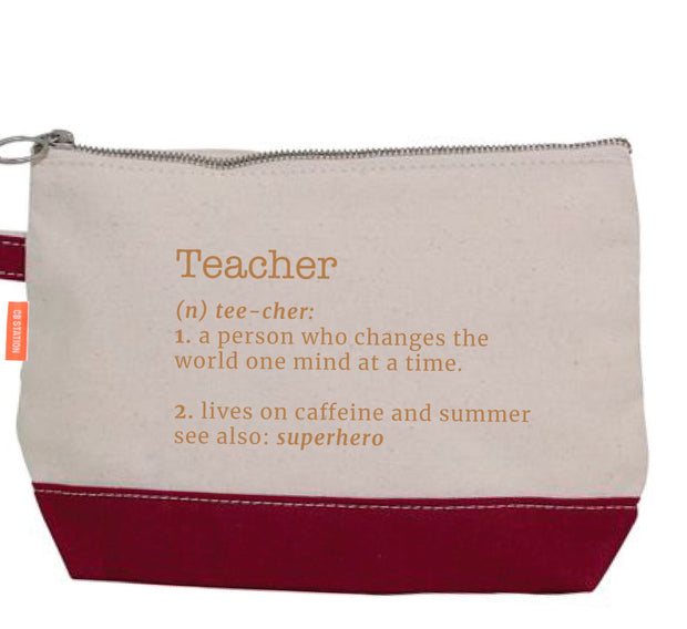 Teacher Definition Pencil Case