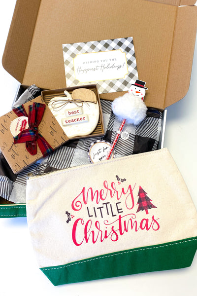 Teacher Christmas Gift Box