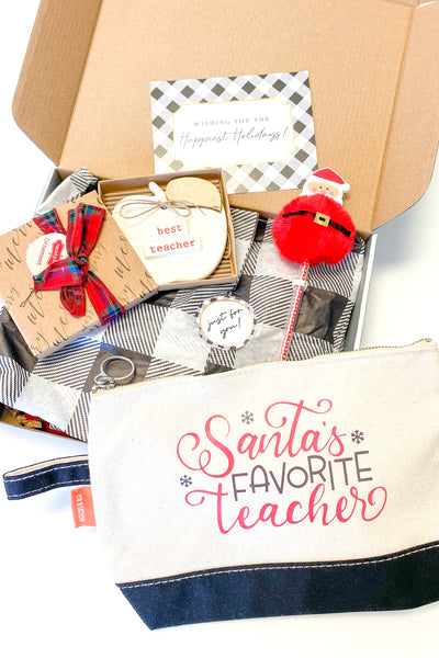Teacher Christmas Gift - Santa's Favorite Teacher