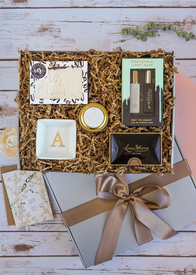 You Are Loved Spa Gift Box | Done for you gifts from LaLa Confetti.