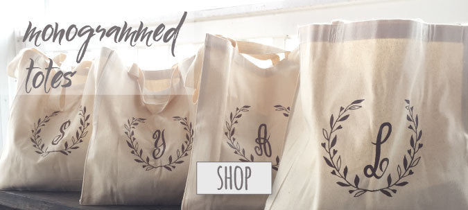 Simple, gorgeous & timeless. These bridesmaid tote bags will be that little reminder of you & your special day every time it's used.