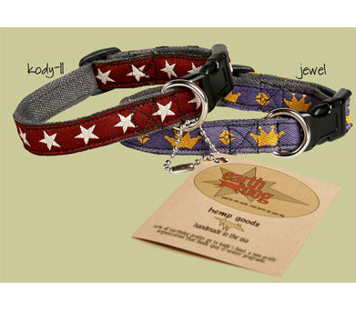 XS Hemp Dog Collar by Earthdog