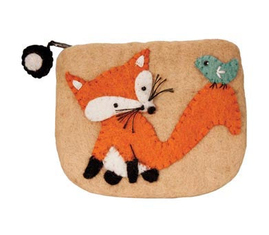 Felted Wool Coin Purse