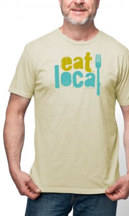 Eat Local t-shirt- Sale!