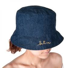 Denim Hemp Fisherman's Bucket Hat