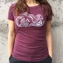 Women's Wind and Sea Tee
