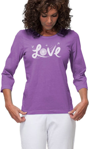 Love  3/4 Sleeve Top