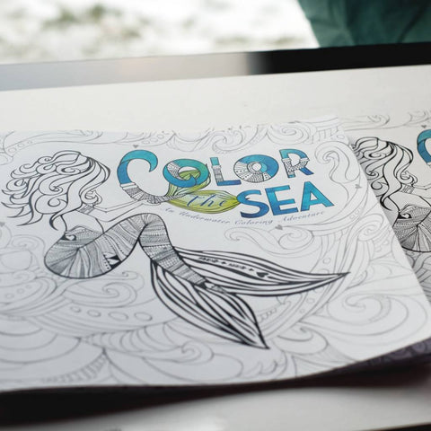 Octopus Ink Coloring book