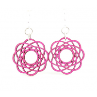 Molecular Blossom Earrings