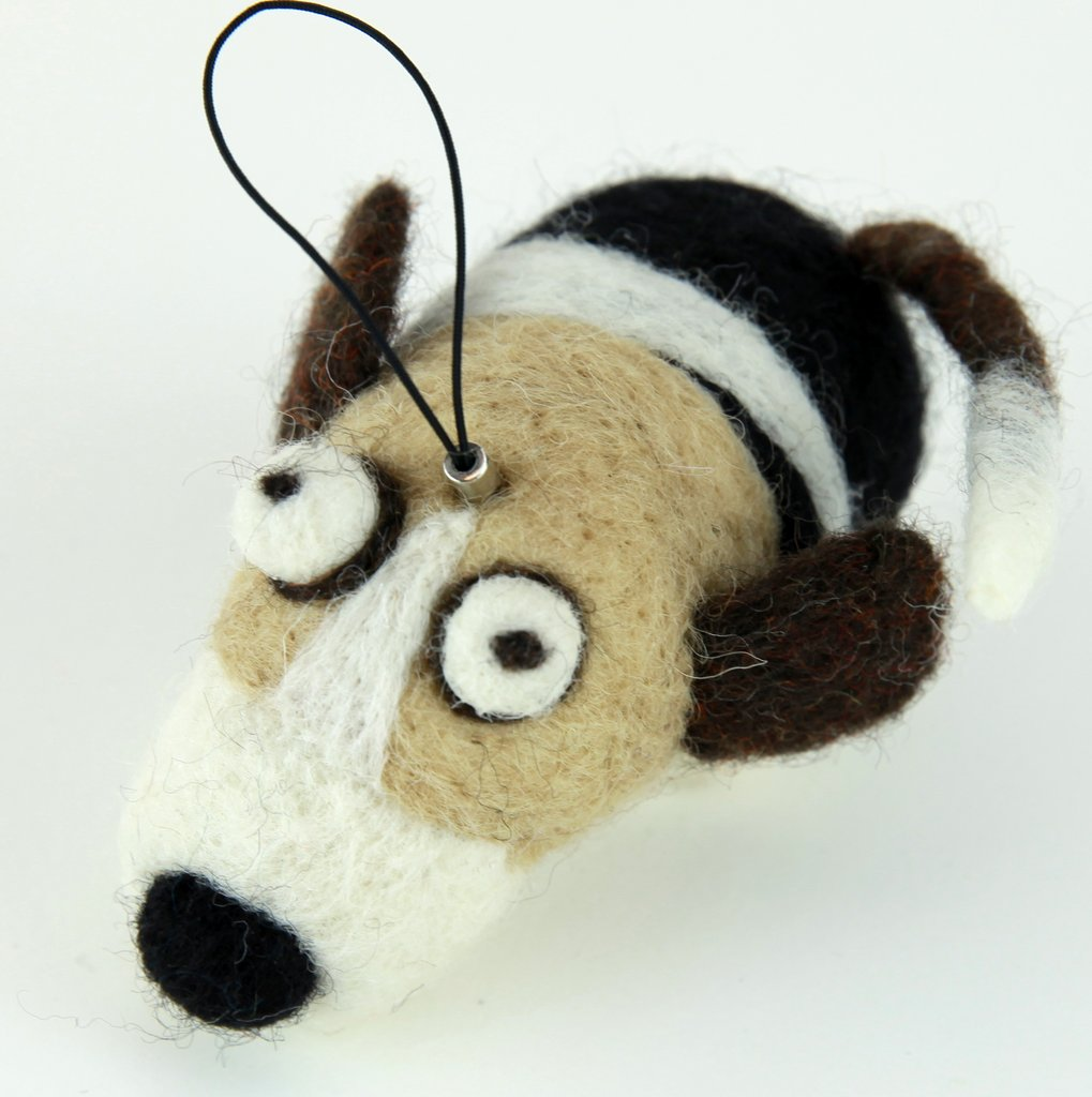 Felted Dog Ornament