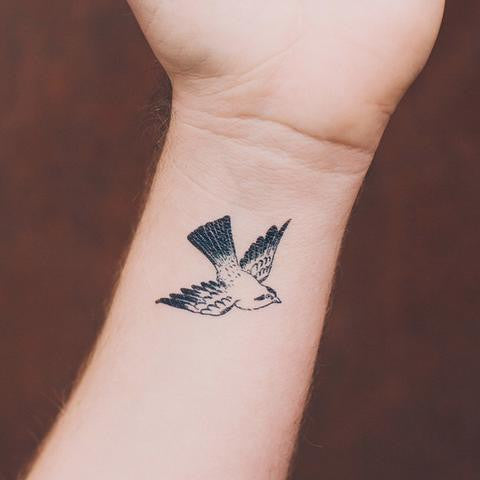 Cartolina Bird Tattoo