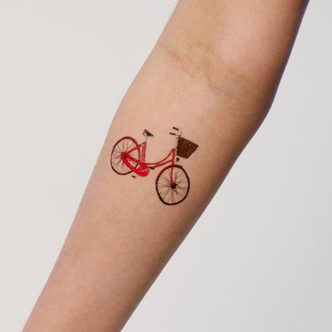 Red Bike Tattoo