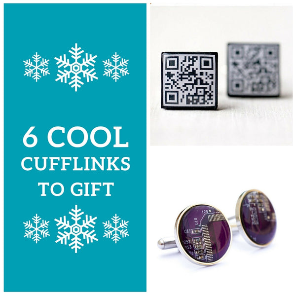 6 cool cufflinks to gift this Christmas