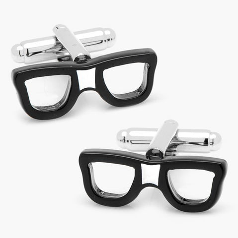 glasses cufflinks