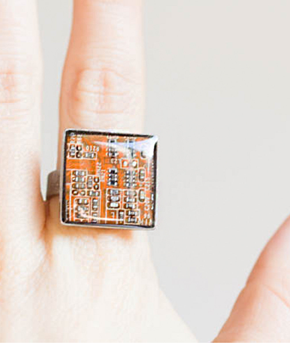 Square circuit board Ring