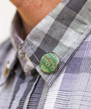 Circuit board tie pin