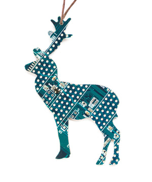 Deer Christmas Tree ornament