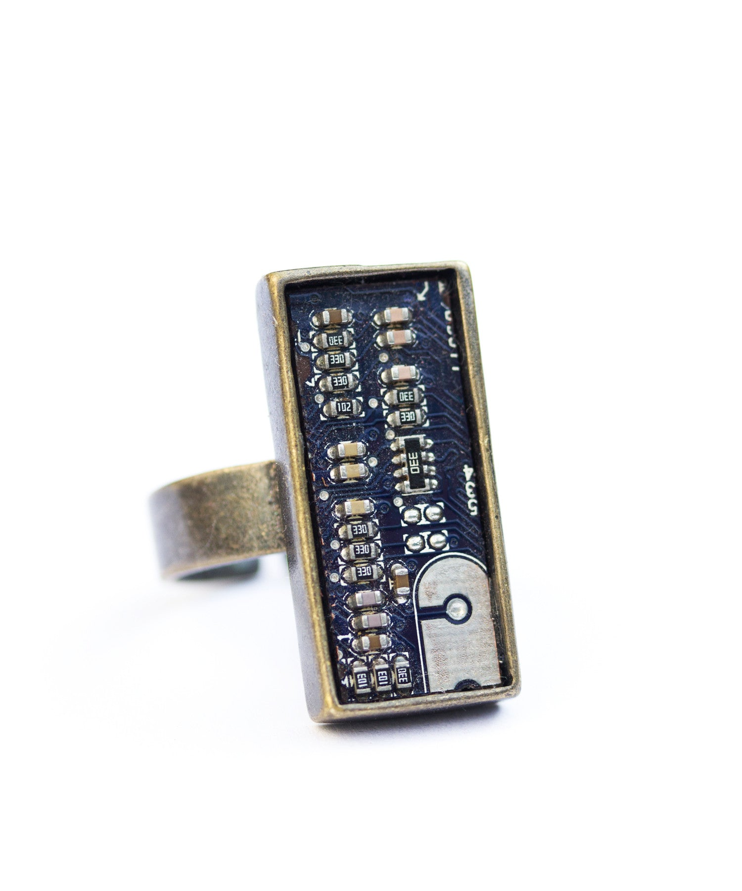 Circuit Board Statement ring