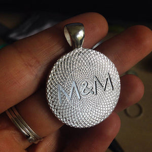 Customize your Recomputing keychain or necklace