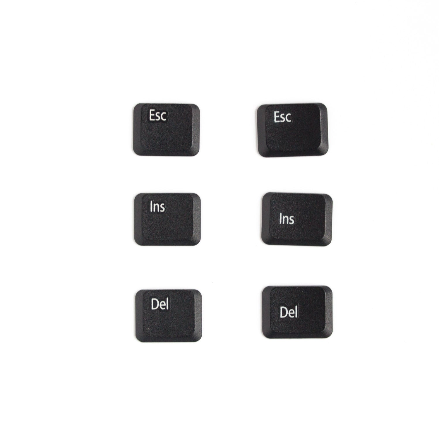 Geeky Set of Fridge Magnets, 6 computer button magnets