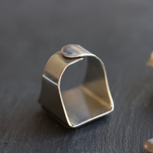 Alt ring, unique men's ring with alt keyboard button