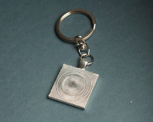 Men's keychain, circuit board keychain