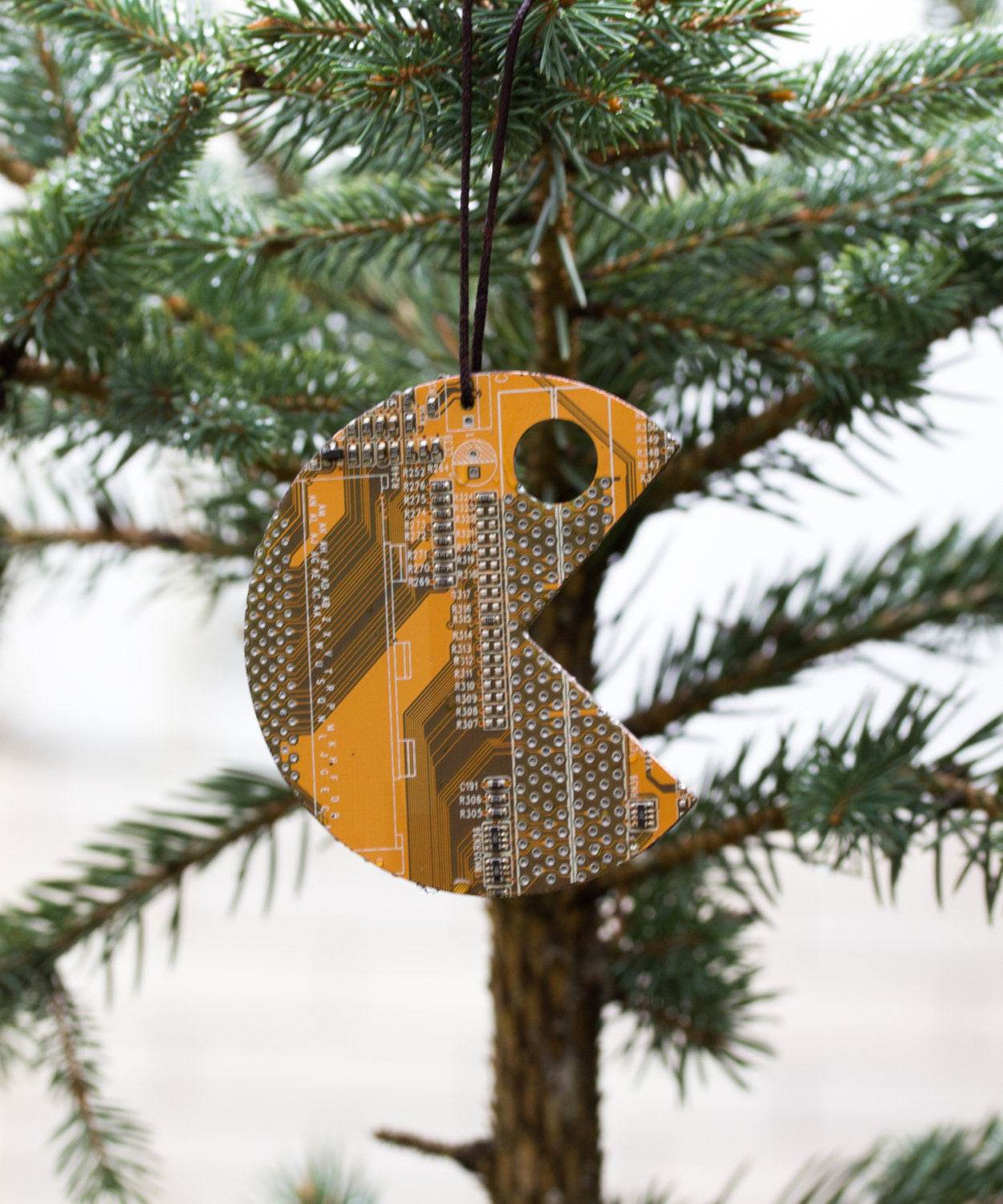 Christmas ornament inspired by videogame