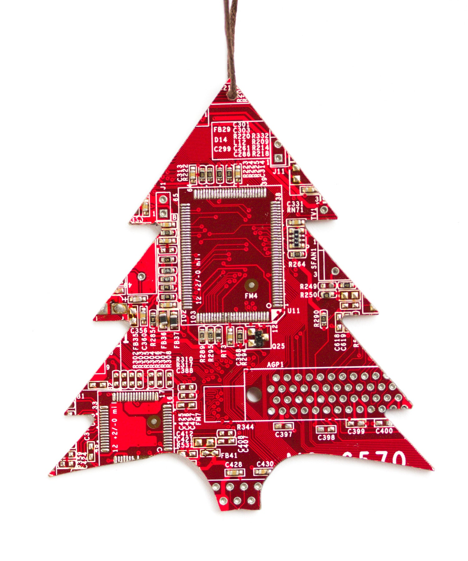 Photo Album Collection Red Christmas Tree Ornaments - All Can ...