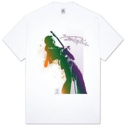 Jimi Hendrix 'Look Out Now' white t-shirt