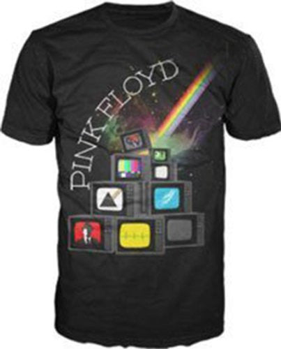 Pink Floyd Album Cover TVs T-shirt (XX-Large)