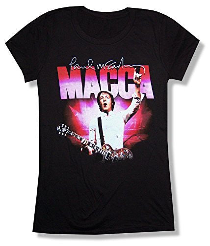Paul McCartney Pink Lights Juniors T-Shirt