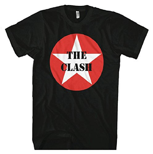 Clash Star Logo Men's T-Shirt, Black