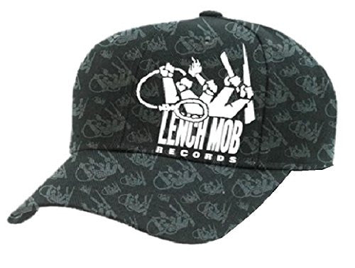 Ice Cube Baseball Cap Lenchmob Records Flat Bill Hat, L/XL