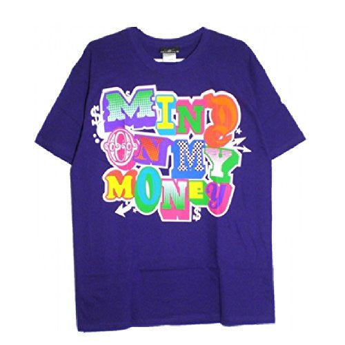 Mind On My Money Purple Drank Snoop Dogg T-Shirt (XX-Large)