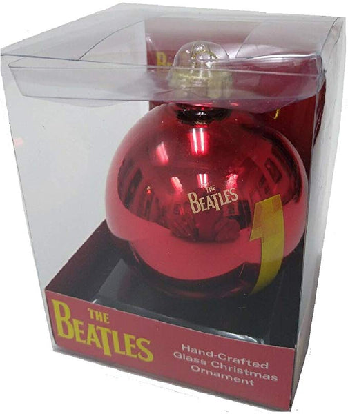 Beatles #1 Christmas Orrnament Glass Holiday Ball, Gift Boxed