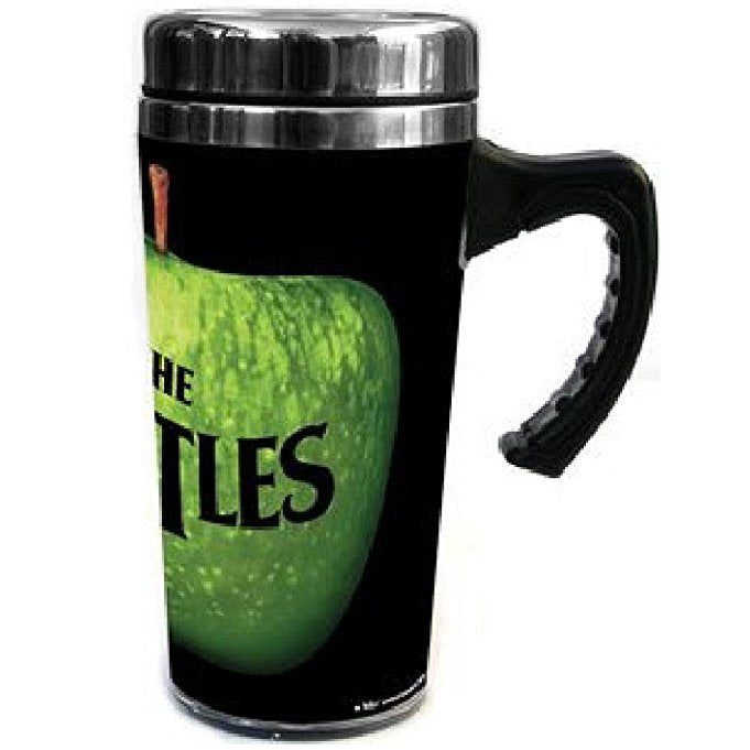Beatles Apple Logo Stainless Travel Coffee Mug