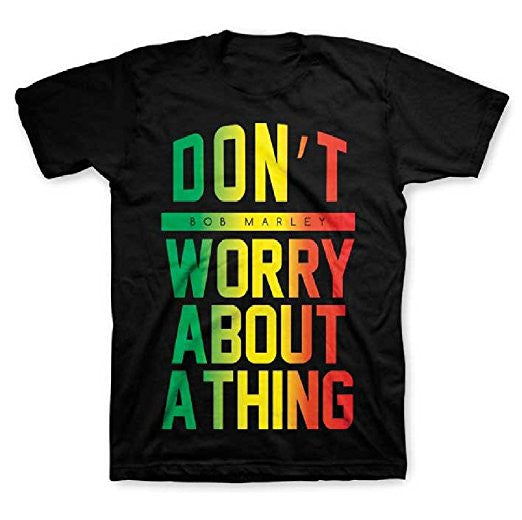Bob Marley Don't Worry About A Thing Little Boy's T-shirt, 3T