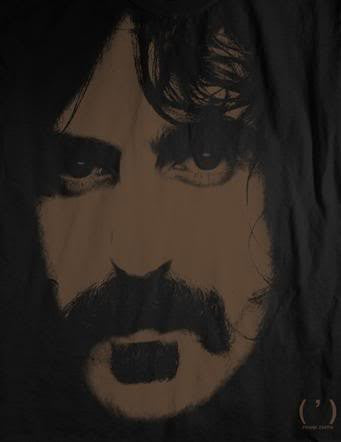 Frank Zappa 'Apostrophe' 2-Sided Black T-Shirt (Large)