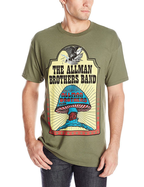 Allman Brothers Band Hell Yeah T-Shirt, Army Green, Small
