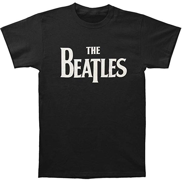 Beatles Classic Logo Men's T-shirt, Black