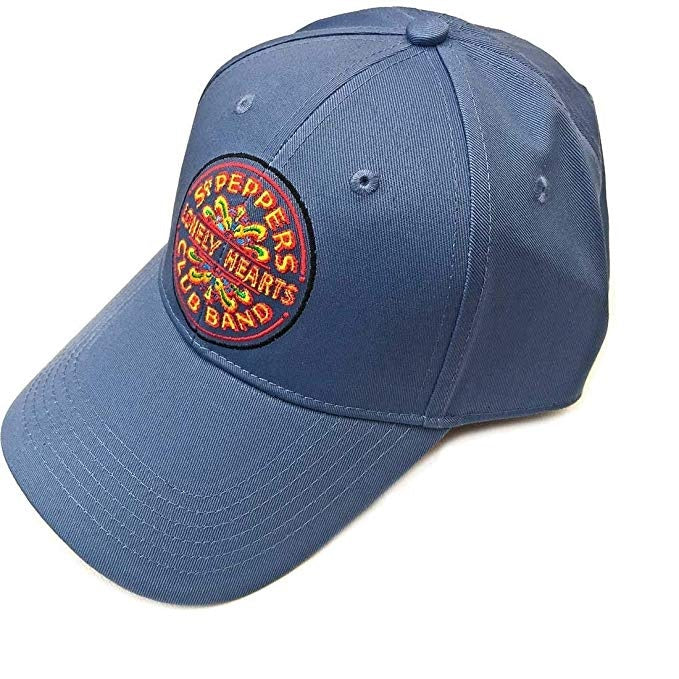 The Beatles Baseball Cap Sgt Pepper, Denim Blue