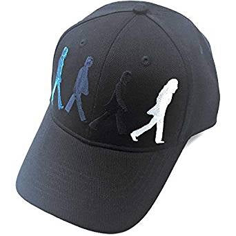 Beatles Abbey Road Embroidered Black Baseball Cap
