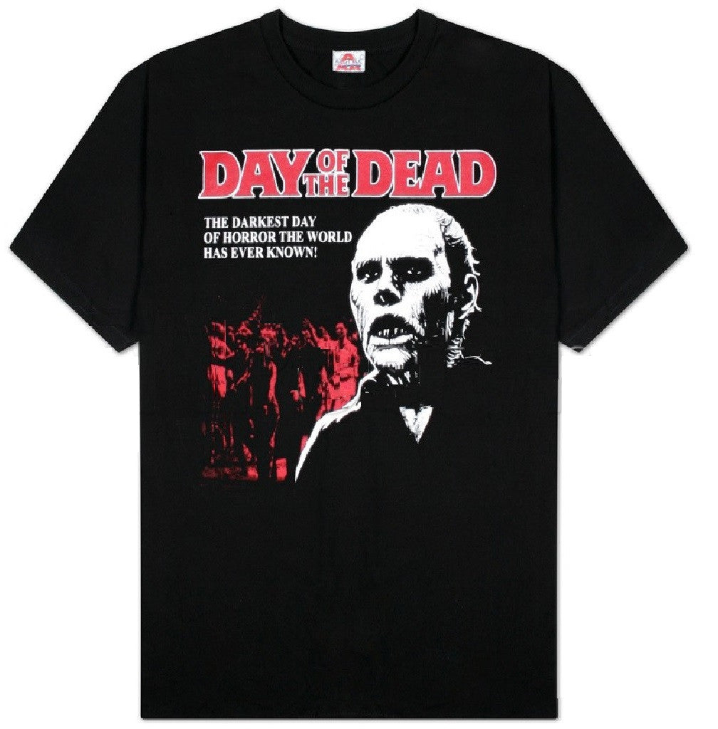 Day of the Dead - The Darkest Day of Horror T-Shirt , Small