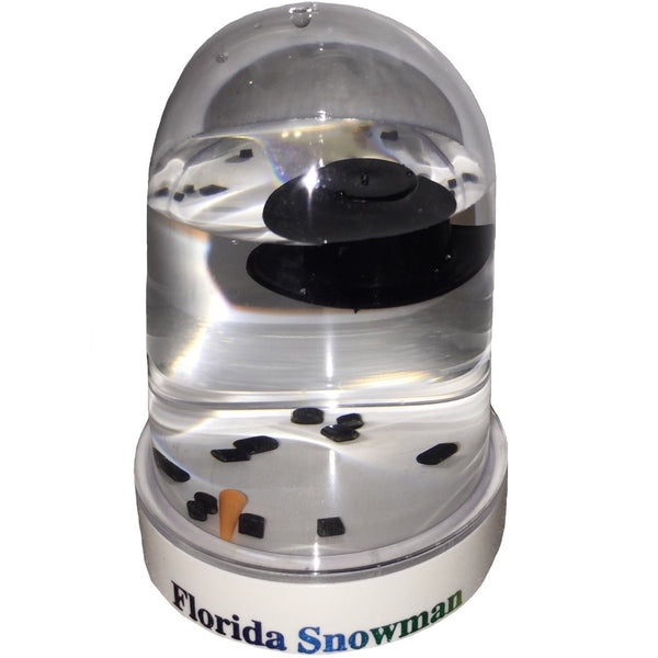 Original Melted Snowman Snowglobe - Florida Snow Globe
