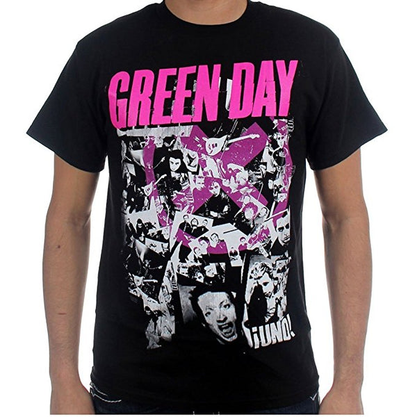 Green Day His Story Men's Black T-Shirt (2X-Large)