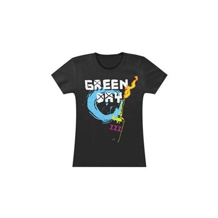Green Day Molotov Juniors T-Shirt (Large)