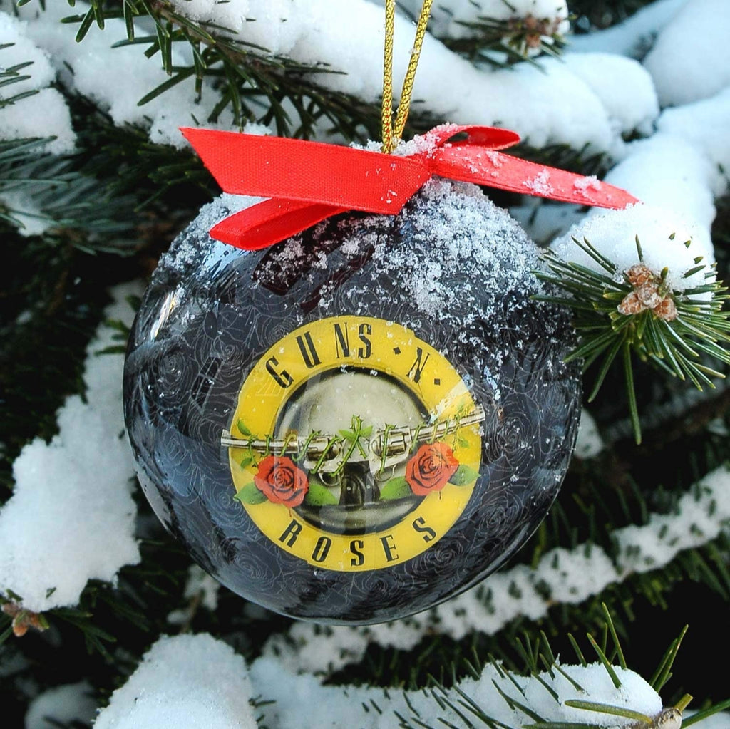 Guns N Roses Christmas Orrnament Plastic Holiday Ball