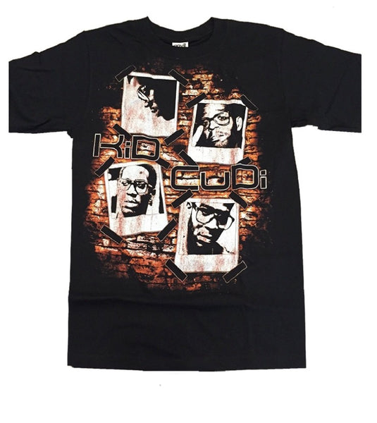 Kid Cudi Photos Men's Black T-Shirt (Small)