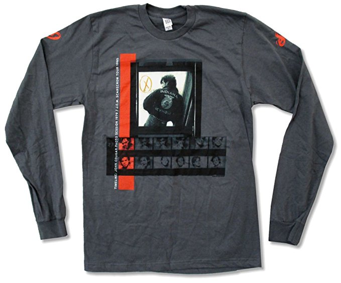 John Mellancamp Photo Sessions Long Sleeve Shirt (Medium)
