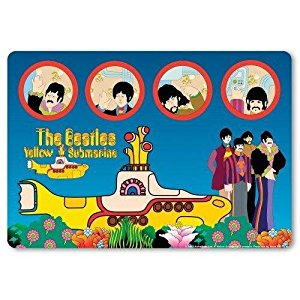 Beatles Yellow Submarine Computer Laptop Mouse Pad